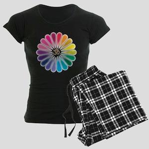Om Rainbow Flower Pajamas