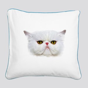 Grumpy Cat Square Canvas Pillow