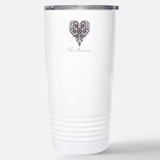 Love Antonia Travel Mug