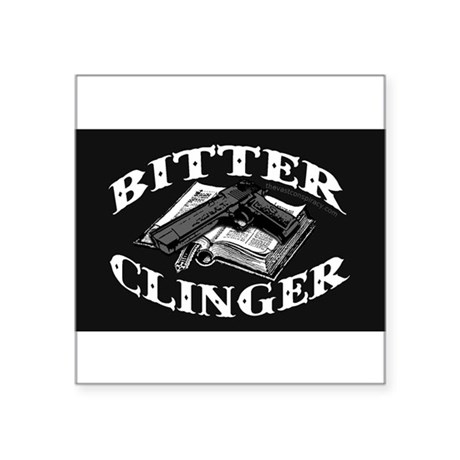 Bitter Clinger (Oval Sticker) Sticker