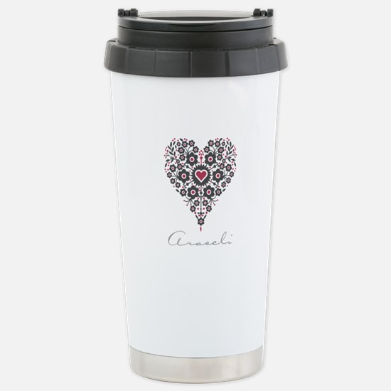 Love Araceli Travel Mug