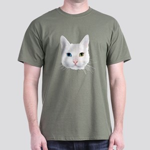 White Cat Dark T-Shirt