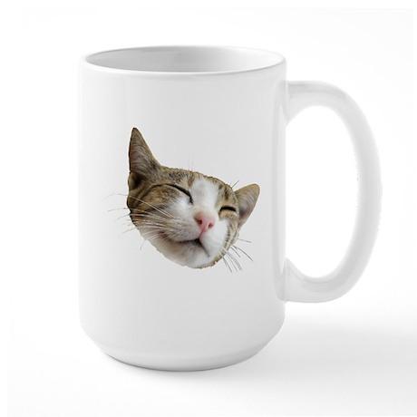 Kitty Face Large Mug