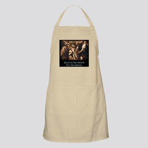 Easter Jesus is the reason for the season Apron