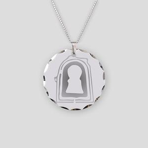 Daisen-Ryo-Kofun Necklace Circle Charm