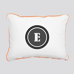 Gray Rectangular Canvas Pillow