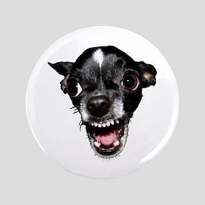 "Vicious Chihuahua 3.5"" Button"