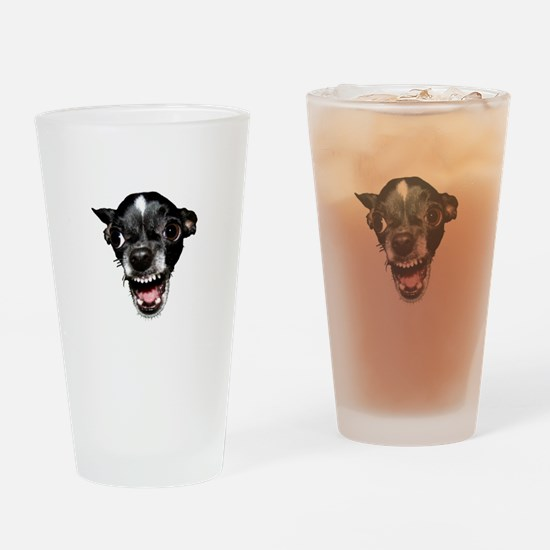 Vicious Chihuahua Drinking Glass