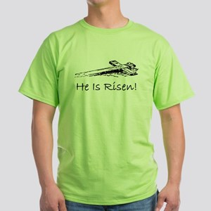 easter he has risen cross T-Shirt