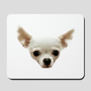 White Chihuahua Mousepad