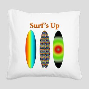 surfsup Square Canvas Pillow