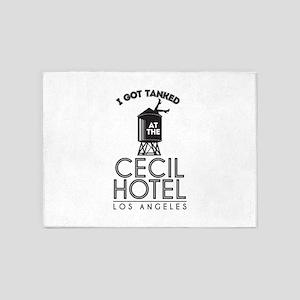 Cecil Hotel 5'x7'Area Rug