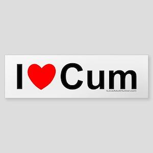 Cum Sticker (Bumper)