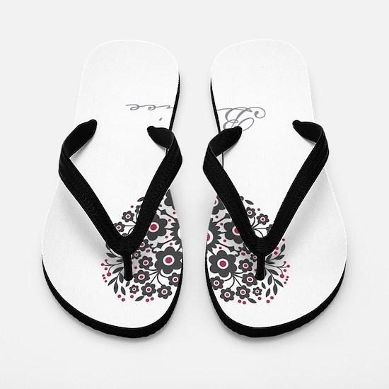 Love Bernice Flip Flops