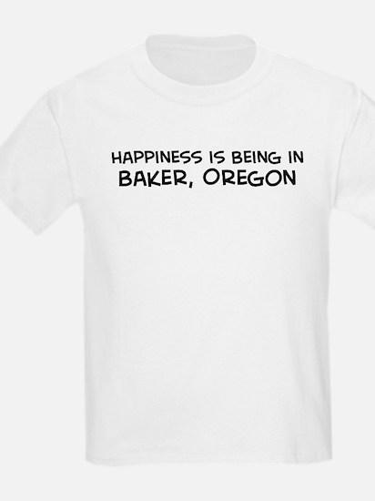 Baker - Happiness Kids T-Shirt