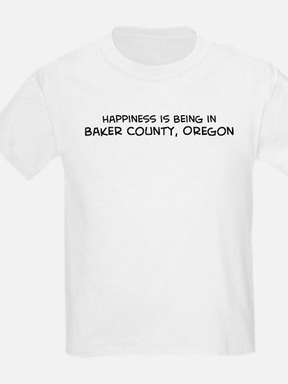 Baker County - Happiness Kids T-Shirt