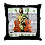 Mozart Sinfonia Concertante Throw Pillow