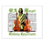 Mozart Sinfonia Concertante Small Poster