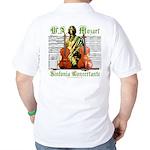 Mozart Sinfonia Concertante Golf Shirt