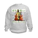 Mozart Sinfonia Concertante Kids Sweatshirt
