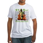 Mozart Sinfonia Concertante Fitted T-Shirt