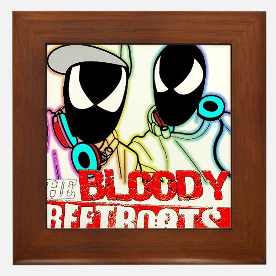 The Bloody Beetroots Framed Tile