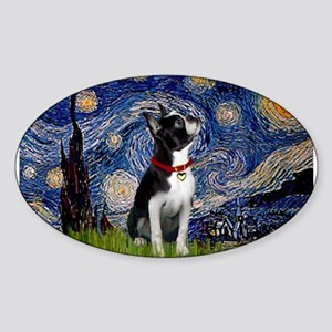 Starry Night & Boston Sticker