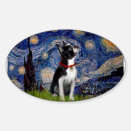 Starry Night & Boston Decal