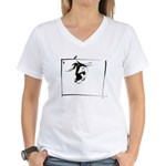 Character #12 Women's V-Neck T-Shirt