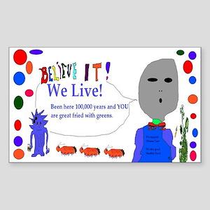 Obama Care Aliens Sticker