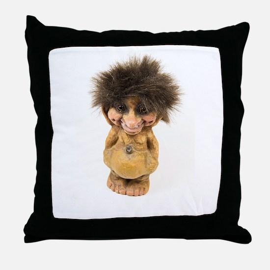 Be my Troll Throw Pillow