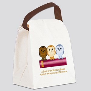 Against Ignorance Canvas Lunch Bag