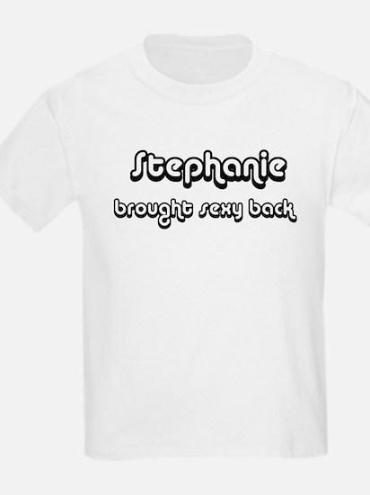 Sexy: Stephanie Kids T-Shirt