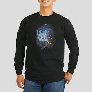 Lack of Logic: Long Sleeve Dark T-Shirt