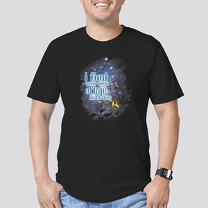 Lack of Logic: Men's Fitted T-Shirt (dark)