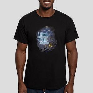Lack of Logic: Men's Fitted T-Shirt (dark)