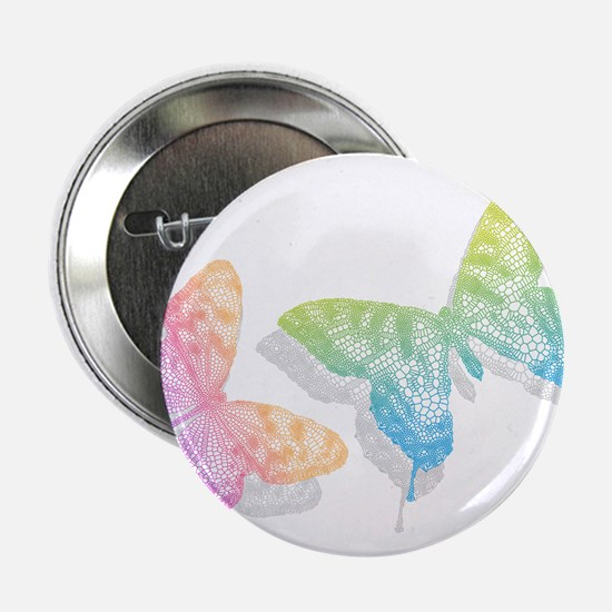 """colorful abstract butterflies with shadow 2.25"""" Bu"""