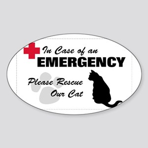 Cat Rescue Rectangle Sticker