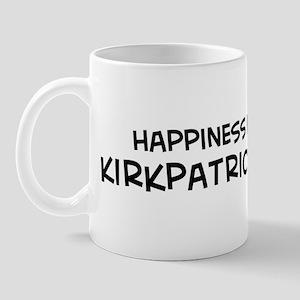 Kirkpatrick - Happiness Mug