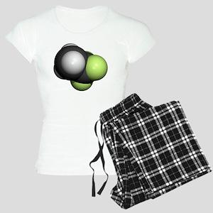 Trifluoroethane molecule - Women's Light Pajamas