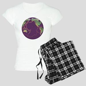 Pacific Ring of Fire - Women's Light Pajamas
