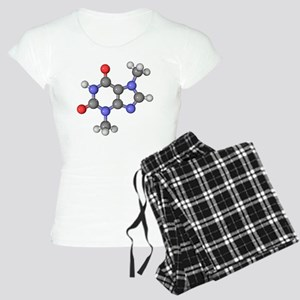 Theobromine molecule - Women's Light Pajamas