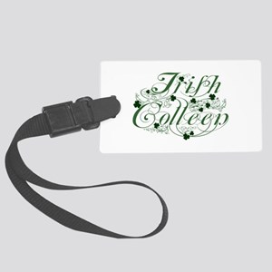 Irish Colleen Luggage Tag