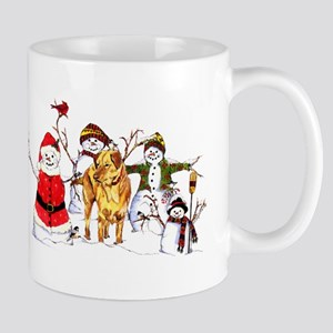 Snowman Gathering Mug