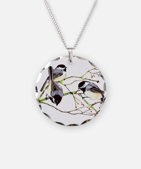 Chickadee gathering Necklace