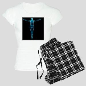 Female anatomy, artwork - Women's Light Pajamas