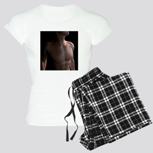 Male torso, artwork - Women's Light Pajamas