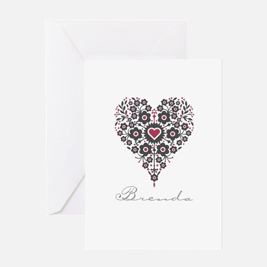 Love Brenda Greeting Card