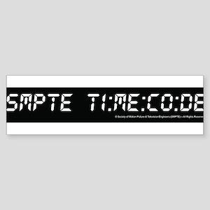 SMPTE Time Code Bumper Sticker