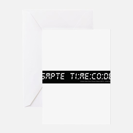 SMPTE Time Code Greeting Card